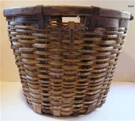 S.J. Oyster Basket Circa 1920s