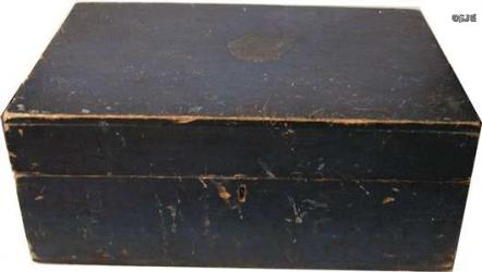 Deep Blue Document Box