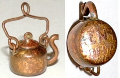 Rare Tea Pot  Made From Indian Head Penny!