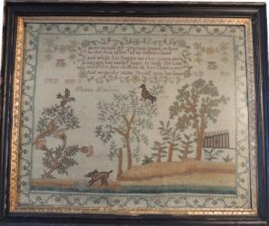 Interesting & Original 1799 sampler