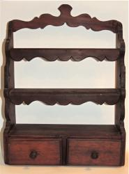 Original Period Decorated Spoon Rack