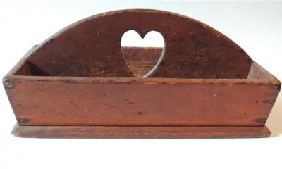 Early & Original Heart Cut Out Knife Box