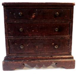 Signed Period Childs 3 Drawer Chest