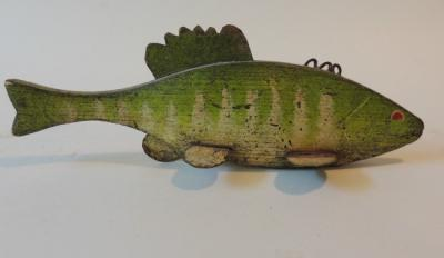 Old Perch Decoy,Great Paint