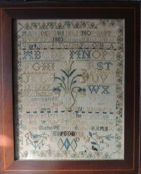 1803 Eunice Bishopes Sampler