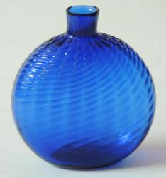 Rare Blue Pitkin type Bottle