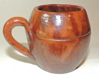 Early Redware Mug #2