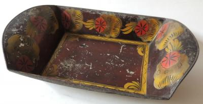 19th Century Tole Painted Bread Tray