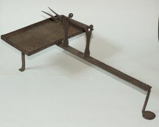 Early Wrought Iron Roaster