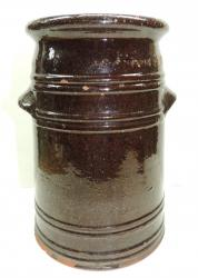 South Jersey Redware Butter Churn